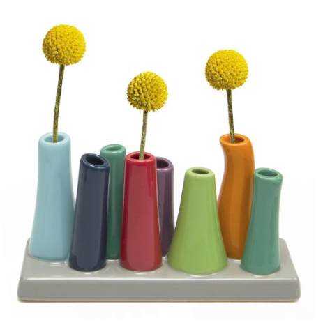 Pooley 8 Tube Vase