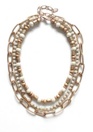 Bella White Opal Necklace