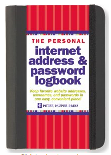 Address & Password Log