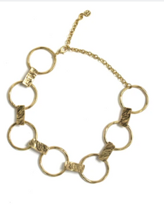 Edge Gold Necklace