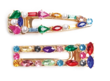 Venetian Glass Clips - Leon & Lulu - Shop Now