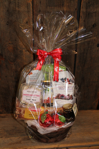 Rosh Hashana baskets filled with sweet goodies
