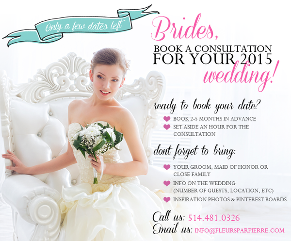 Book your 2015 wedding