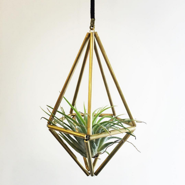 Air Plante Geometric Mobile