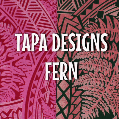 Tapa Designs - Ferns