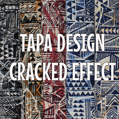 Tapa Design - Cracked Effect