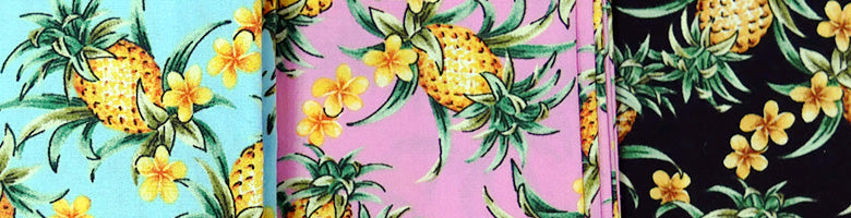 Vintage Pineapples Pattern
