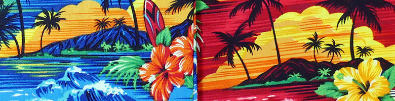 Hawaiian Sunset Pattern