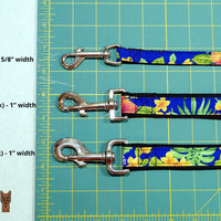 Pineapples - Mai Tai Leash - Tiki Pet Collars made on Kauai, Hawaii