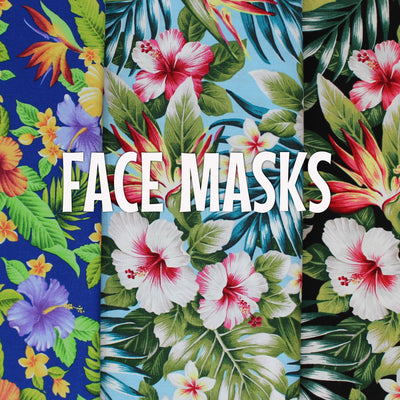 Bird of Paradise Garden - Cloth Face Mask