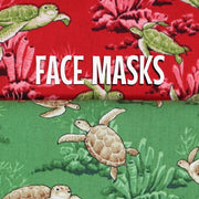 Turtles - Honu Cloth Face Mask