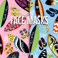 Surfboards - Cloth Face Mask