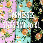 Pineapples and Plumerias Harness