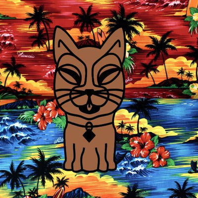 KITTI Collar - Hawaiian Sunset