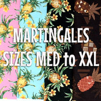 Pineapples - Vintage Martingale Dawg Collar