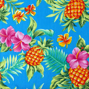 Pineapples - Mai Tai Harness - Tiki Pet Collars made on Kauai, Hawaii