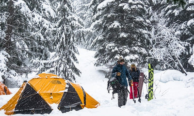 Winter Camping In The Sea To Sky Corridor, British Columbia