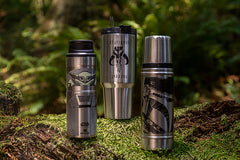 The Child-Trigger Action Mug, The Mandalorian Bottle and The Legendary Warrior Quencher
