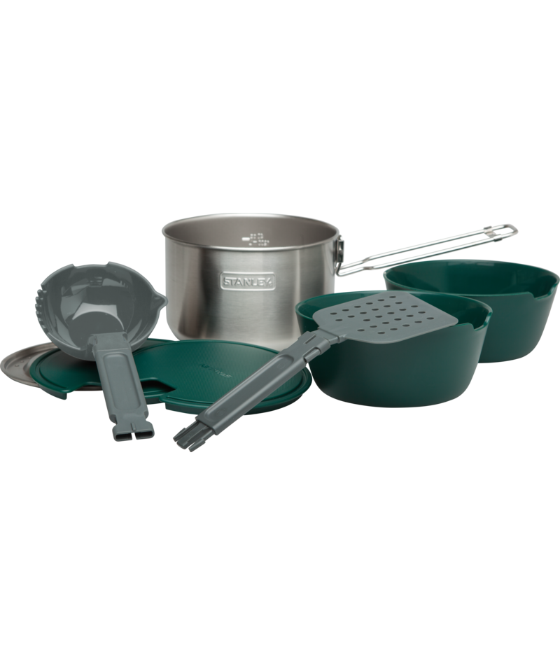 Stanley Aventure Série The All-in-One Two pot Cook Set 2.43 QT//2.3 L NEUF