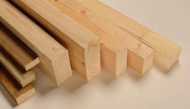 A selection of structural timber
