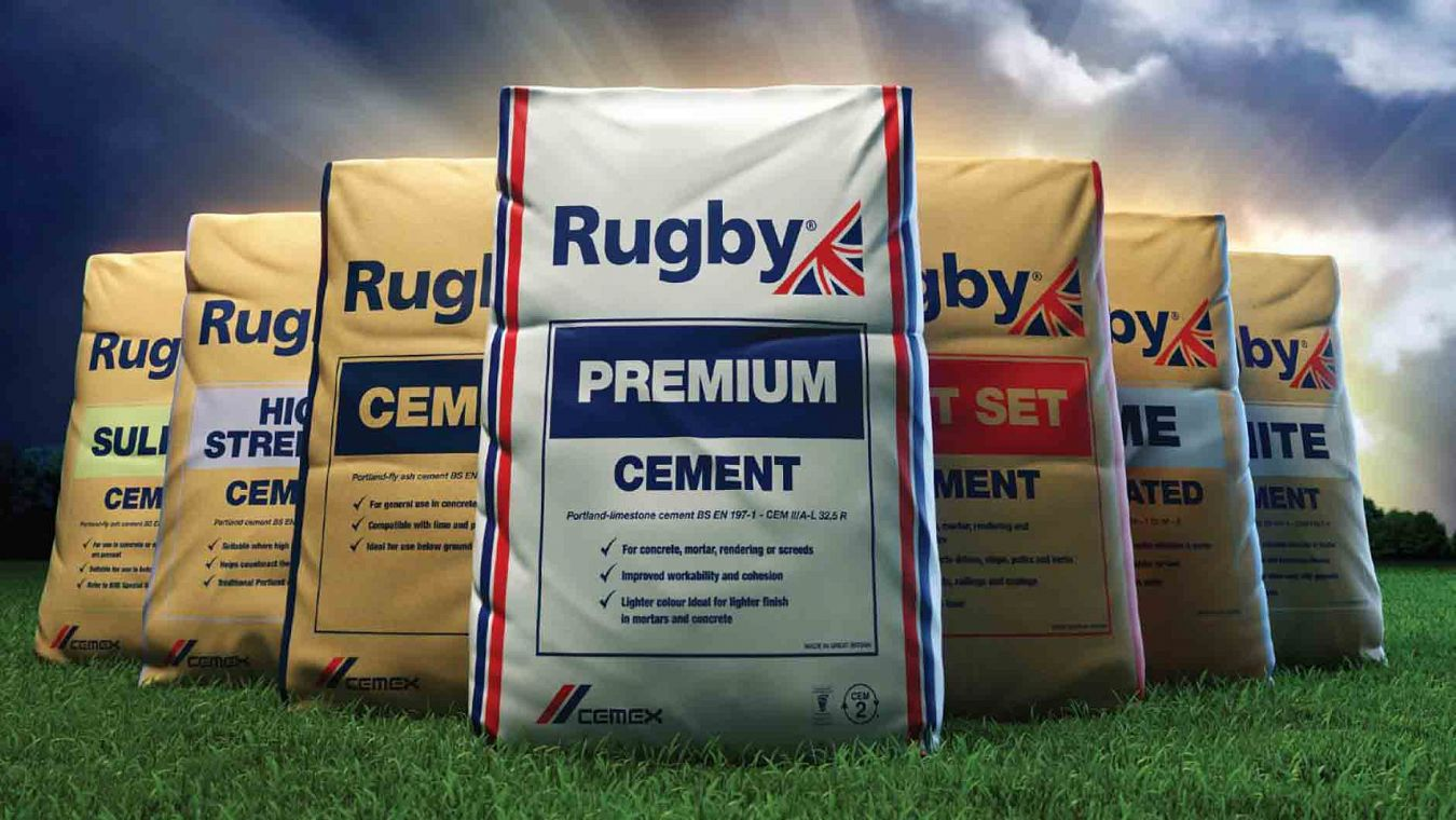 Rugby Cements range of products