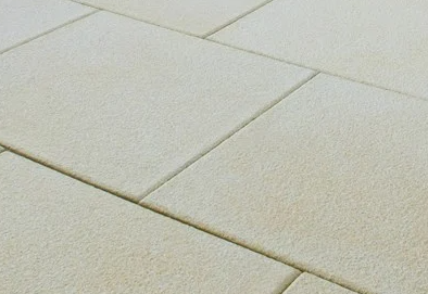 Buff Textured paving