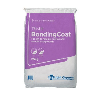 British Gypsum Thistle Bonding Plaster 25kg