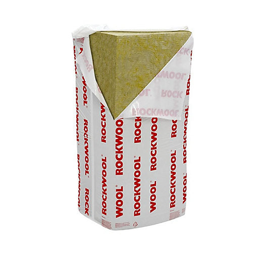 Rockwool RWA45 Slab Insulation 75mm 4.32m2 per pack