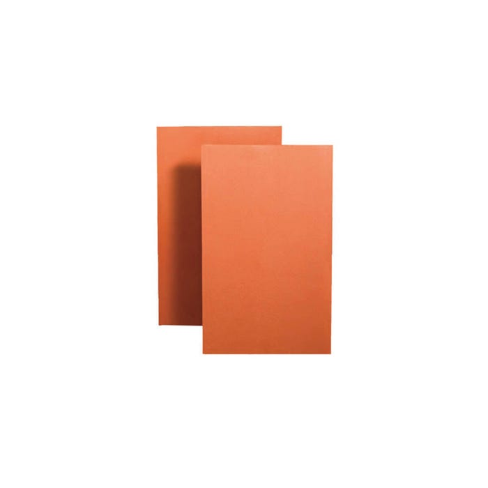 "Clay Creasing Tiles Red 10x6"" (265x165mm)"