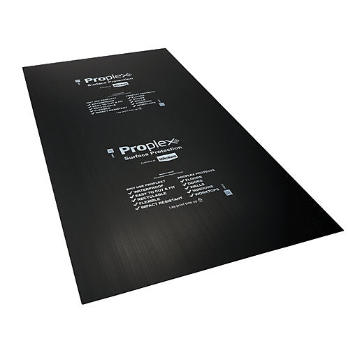 Non Flame Retardant Protection Sheet Black 2440 x 1220 x 2mm