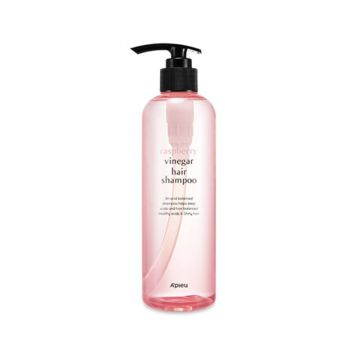 APIEU Rasberry Vinegar Hair Shampoo 라즈베리 식초 샴푸 500ml