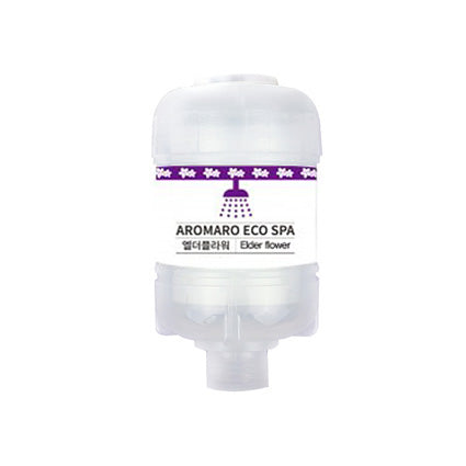 AROMARO Eco Spa Shower Filter Elder Flower 에코 스파 샤워필터 엘더플라워