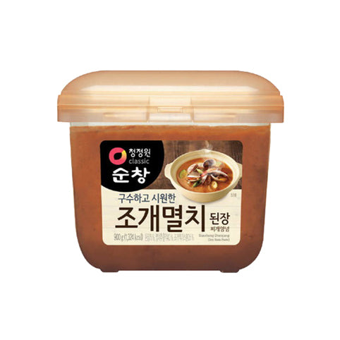 Soy Bean Paste with Anchovy & Clam 조개 멸치 된장 900g