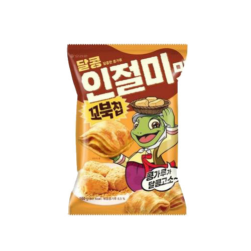 Turtle Chips Injeolmi 꼬북칩 인절미 160g