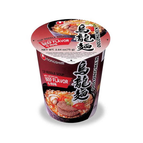 Nongshim Cup- Beef 소고기컵 6/75g