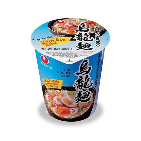 Nongshim Cup- Seafood 해물컵 6/75g