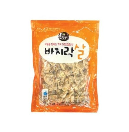 Frozen Cooked Short Neck Clam Meat 냉동 바지락살 454g