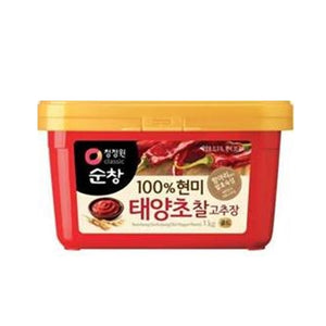 Red pepper paste 고추장