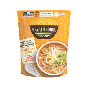 Miracle Rice Ready-to-Eat Thai Konjac Tom Yum 즉석 타이 똠양꿍 곤약 국수 8oz