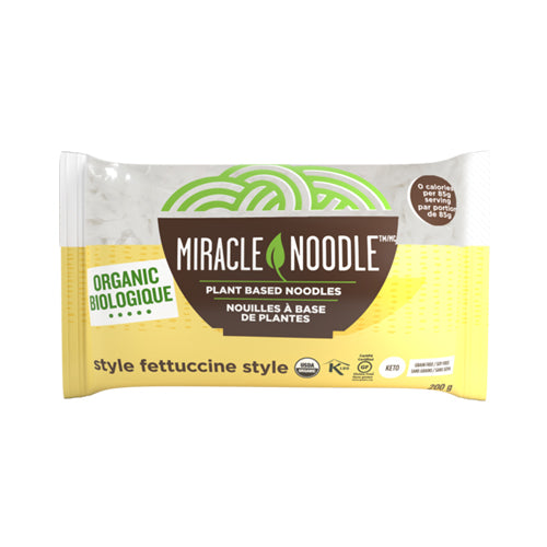 Miracle Noodle Organic Fettuccine Style 유기농 곤약 페투치니 200g