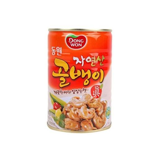 Canned Whelk (Natural) 동원 자연산 골뱅이캔 400g