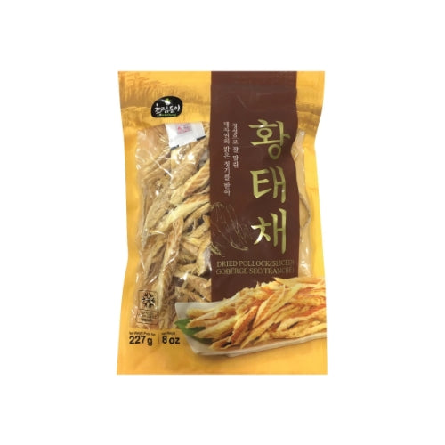 Dried Pollack Sliced 황태채 227g