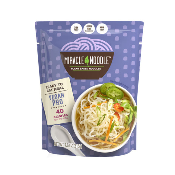 Miracle Rice Ready-to-Eat Vegan Konjac Pho 즉석 비건 베트남 곤약 국수 8oz