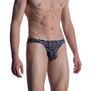 M2005 MICRO BRIEF - GREY/BLACK