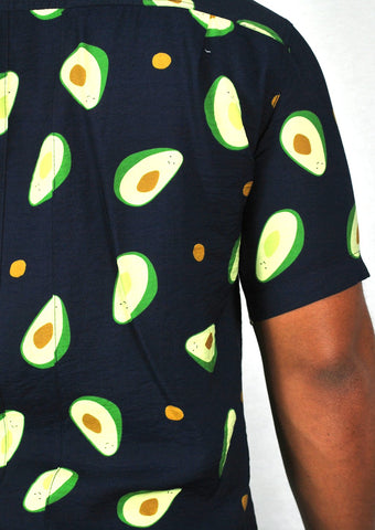 AVOCADO SHIRT - NAVY