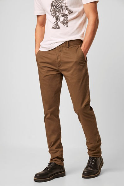 MACHINE GUN STRETCH CHINO - TARMAC KHAKI