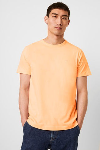 CLASSIC ORGANIC COTTON TEE - CITRUS ORANGE