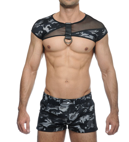 ALYX COMBO CROP AND HARNESS - CAMO