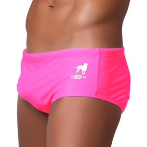 LOLLIPOP Swim Brief - NEON PINK