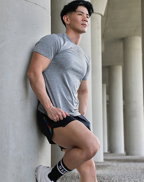 SPECTRUM SHORTS - BOLT BLACK